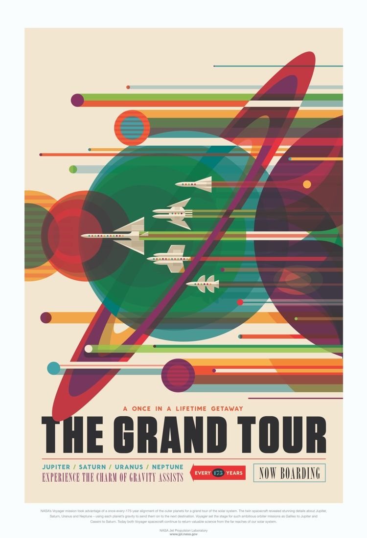 Free Downloadable Nasa Poster on the Framebridge Blog