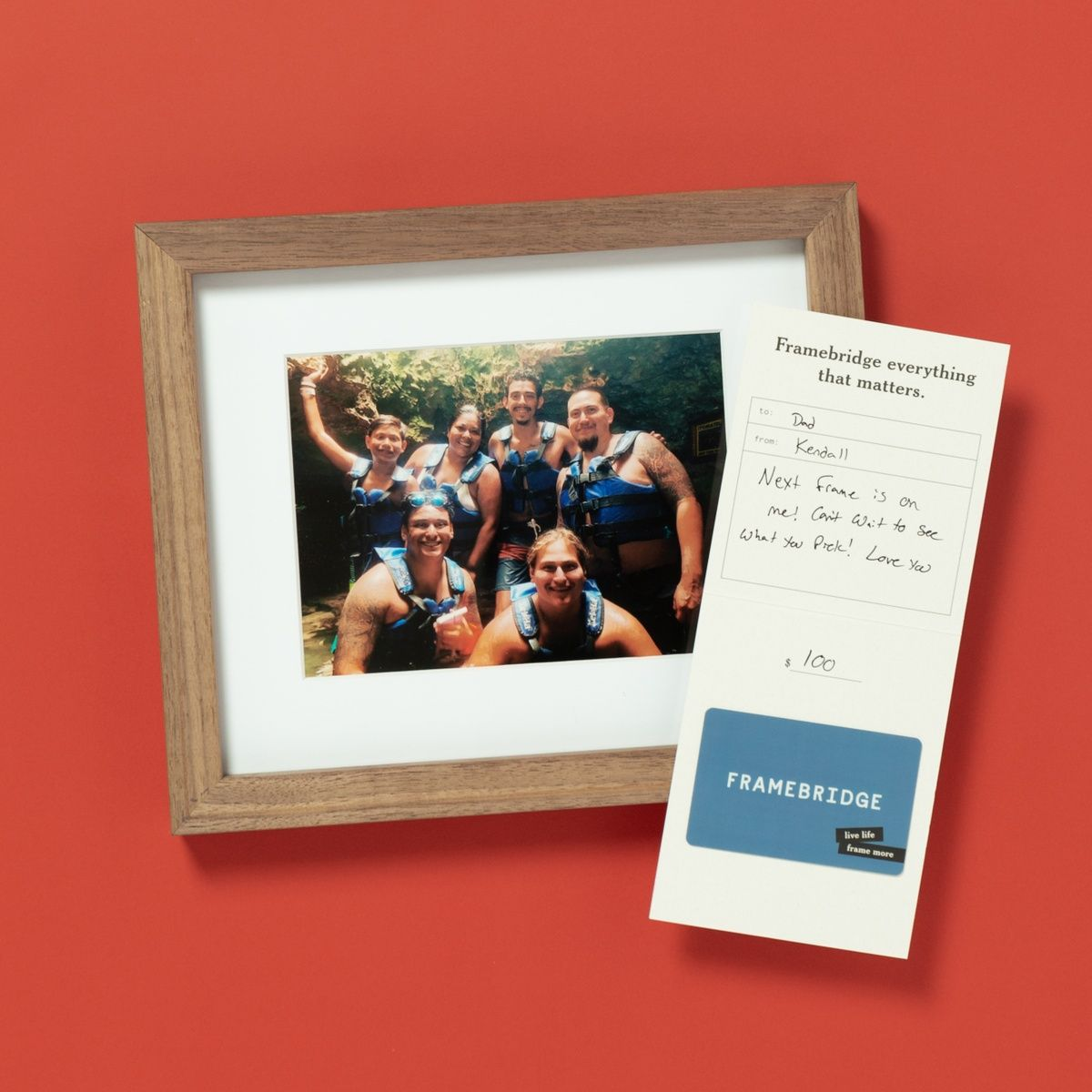 Father/'s Day Frame Great Look for Dad/'s Photo or Office From DeZine Co