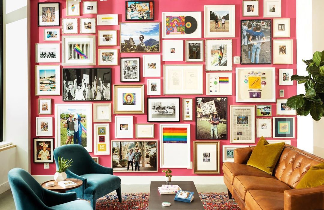 Pride gallery wall