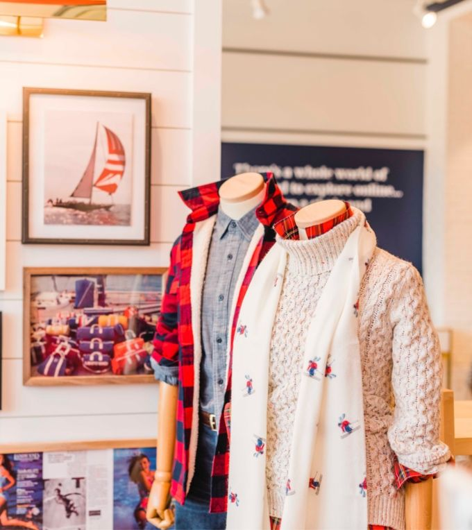 –Tony Broussard, Visual Merchandising Director, Lands' End